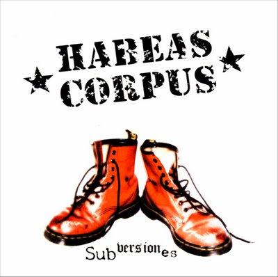 Habeas Corpus - Subversiones - front